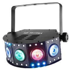 Chauvet FXarray Q5 Multiple FX RGB UV LED Wash Light DJ Disco Band 2Yr Warranty
